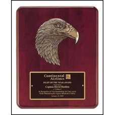 Detailed Eagle Casting Plaque